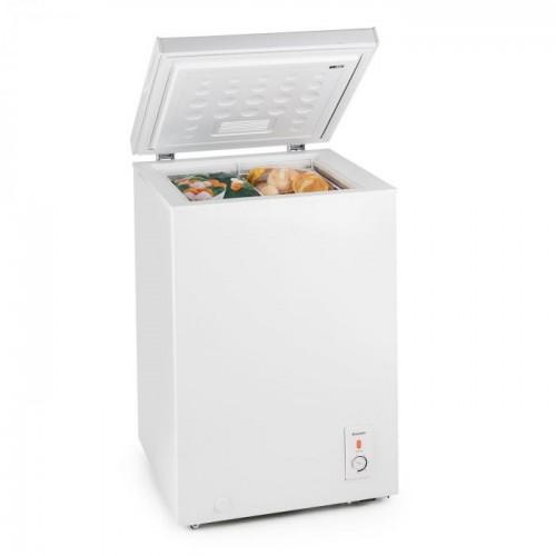 KLARSTEIN Saldējuma ledusskapis 100 Balts, 100 l, 42 dB ( ir transportēšanas defekts iespiedumu veidā)
