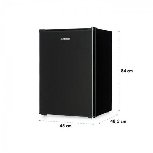 Klarstein Delaware ledusskapis Melns, 76 L (Transportlīdzekļu defekts ir iespiedumu veidā)